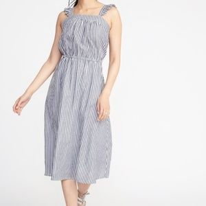 Old Navy Ruffle Striped Dress